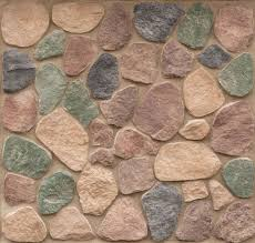 hillside split rock exterior stone wall