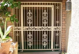 front door securityFront Door Security Gate  Whlmagazine Door Collections