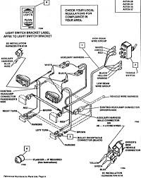 Snow plow wiring diagram
