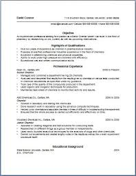 Bullet Point Resume Template Of The Most Important.