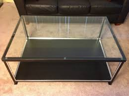... Coffee Table With Glass Display Case Glass Topped Display Coffee  Intended For Good Looking Display Case ... Photo Gallery