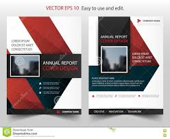 red black triangle annual report brochure design template vector red black triangle annual report brochure design template vector business flyers infographic magazine poster