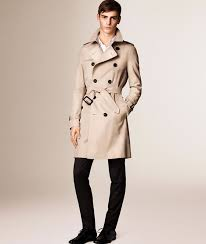 men s burberry double ted trench coat