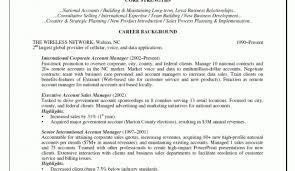 Ideas Of Resume Glorious Account Manager Resume Cover Letter Inside