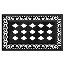 decorative rubber floor mats. Brilliant Mats Evergreen Rubber PVC Decorative Floor Mat Insert Frame 30 X 18 Inches With Mats L
