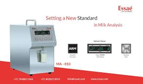 Milk Analyser Based On Ultrasonic Technology To Accurately
