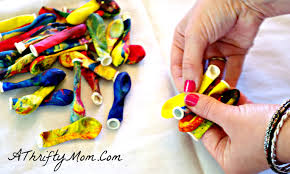 Kids Crafts Kids Craft Diy Balloon Barrettes