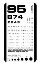 Snellen Eye Chart In Other Health Care Supplies For Sale Ebay