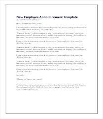 new employee announcement new employee announcement letter template staff meeting updrill co