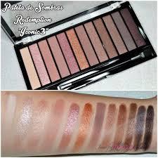 Для глаз makeup revolution redemption palette iconic 3 Цвет iconic 3 variant hex name b1806a