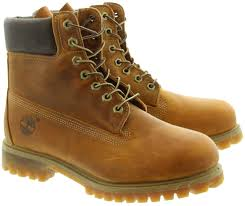 timberland leather 27094 classic 6 inch lace ankle boots in tan main image loading zoom timberland leather