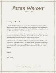 personal letterhead personal letterhead templates canva