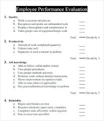 Sample Staff Evaluation Inspiration Interview Evaluation Comments Examples Employee Performance Sample