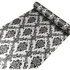 Contact Paper Decorative Designs Amazon SimpleLife100U Retro Black Damask Contact Paper Self 22