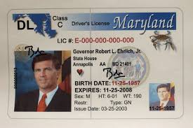 Maryland Sun The License Through Years - Driver's Baltimore