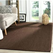 natural fiber sisal brown area rug 3 x 5 furniture inspiring s chocolate dark