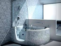 bathtub shower combo ideas full size of contemporary walk in tub home design