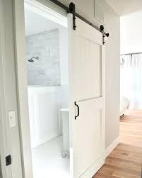 Charming Bathroom Barn Door Lovely Sliding Barn Doors For Bathroom With Best Barn  Doors Ideas On Bathroom