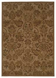 oriental weavers allure 057b1 beige green fl area rug traditional area rugs by rugmethod