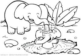 Barnyard Animals Coloring Pages Chic Farm Animal Template Free