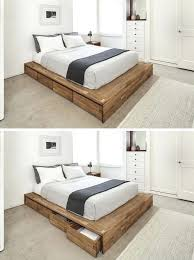 bed frame with storage drawers wooden beds with drawers underneath amazing king size bed frame intended bed frame with storage drawers