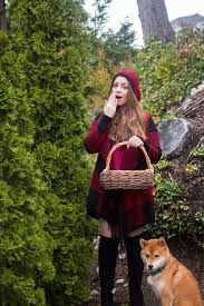 diy little red riding hood work costumes hello rigby seattle fashion