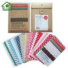 27 Sheets Kawaii Masking Sticker Set Cute Kawaii Paper Dot ...