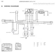 3 wheeler world tech help honda wiring diagrams atc110 1981 factory diagram