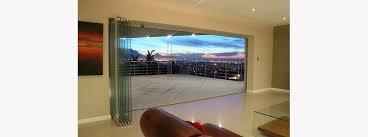 beautiful frameless bifold doors frameless glass bifoling doors