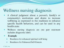 nursing essay on nursing process wellness