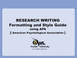 Title Page Research Paper Apa Style The Write Direction Exclusive Getaways