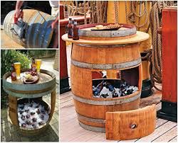 view in gallery diy wine barrel cooler wonderfuldiy