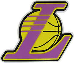 Los angeles lakers logo pattern purple officially licensed removable wallpaper. Amazon Com Officially Licensed Nba 3d Foam Logo Los Angeles Lakers Sports Outdoors