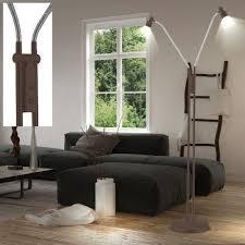 10 Watt Led Steh Lampe Antik Braun Schlafzimmer Lese Leuchte
