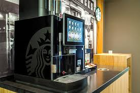 Starbucks Coffee Vending Machines