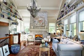 terrific brick fireplace remodel living room rustic with built in low cabinets high ceilings white armchairs