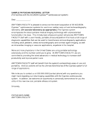 Physician Cover Letter Examples Adriangatton Com