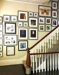 pictures on staircase wall decorating staircase wall ideas staircase traditional with staircase gallery wall decorating staircase wall ideas staircase