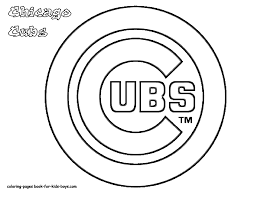 Small Picture MLB Coloring Pages New Chicago Cubs For glumme