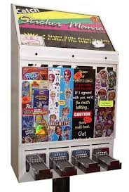 Sticker Vending Machines Enchanting Sticker Vending Machines Childhood Pinterest Vending Machine
