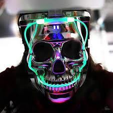 Light Up Skull Mask Light Up Skull Mask