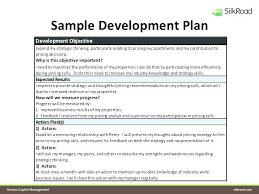 Sample Personal Action Plan Simple Examples Of Development Plans Individual Career Plan Personal