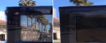 new window glass switches from clear to opaque so you ll never need curtains again