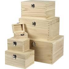 box set paulownia 6pcs