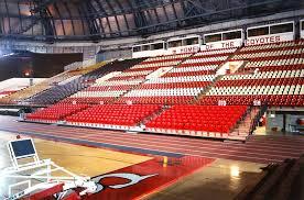 Stadium Seating At Usd Dakota Dome