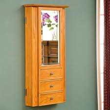 armoires jewelry armoire wall mounted medium size of mounted jewelry within brilliant wooden jewelry cabinet