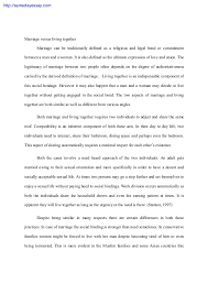 marriage essay papers  marriage essays and papers