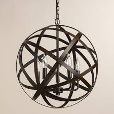 adorable bronze orb chandelier and orb chandelier