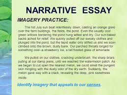 narrative writing what you write says something about you narrative essay imagery practice