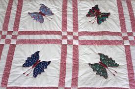 Butterfly Appliqué Quilt | Lady Bird Quilts & ... Butterfly Appliqué Quilt Adamdwight.com